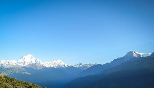 annapurna mountain range nepal mountains