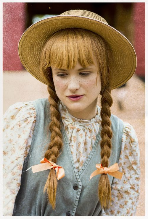 anne of green gables portrait female portrait