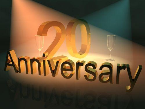 jubiliejus,iškilmingai įvykdytas metines,verslo jubiliejus,20