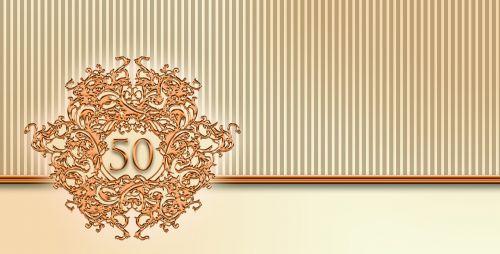 anniversary gold 50