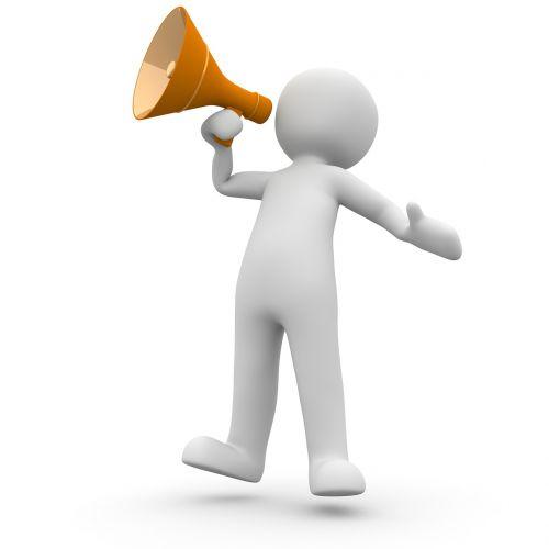 megaphone announcement information