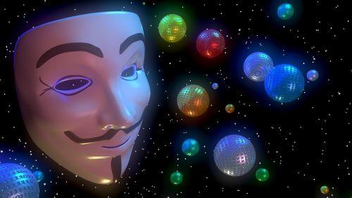 anonymous digital face