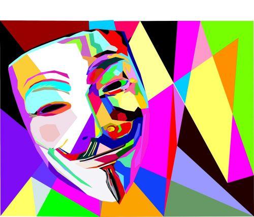anonymous mask happy