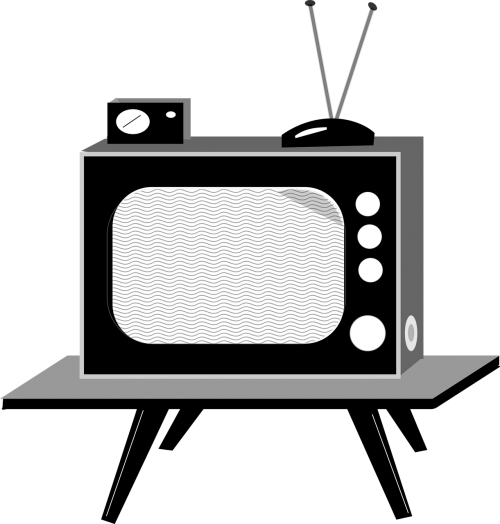 anos 60 aparelho tv cathode-ray tube