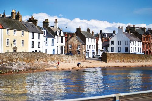 anstruther beach fife scotland