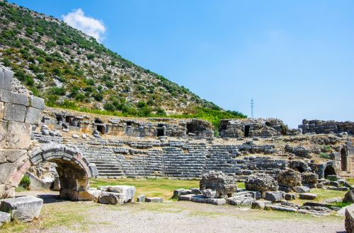 antalya the ancient city of limyra ancient-kent