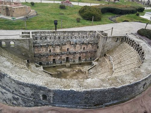 antalya amphitheater aspendos