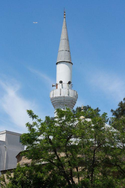 antalya minaret aircraft