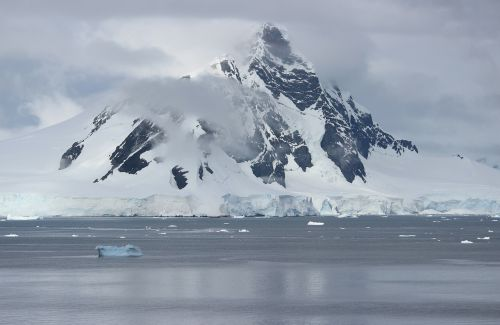 antarctica sea landscape