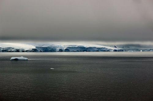 antarctica landscape winter