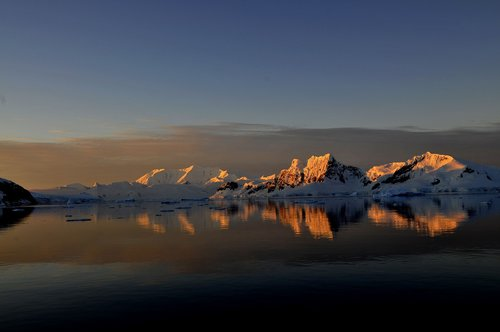 antarctica  mountains  ice