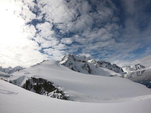 antarctica  mountain  snow