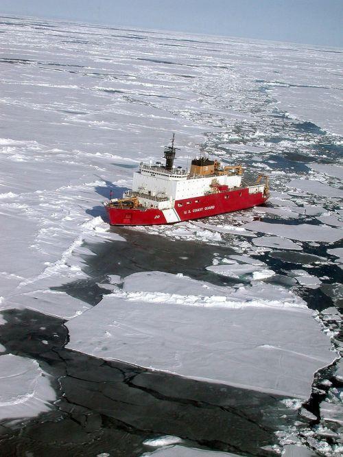 antarctica ship coast guard