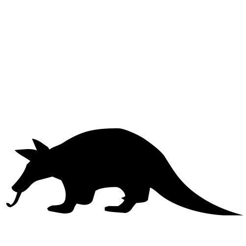 Anteater Silhouette