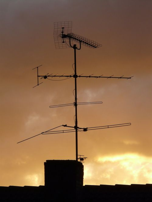 antenna home roof