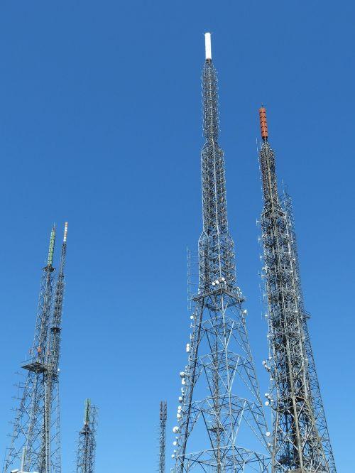 antenna radio transmission tower