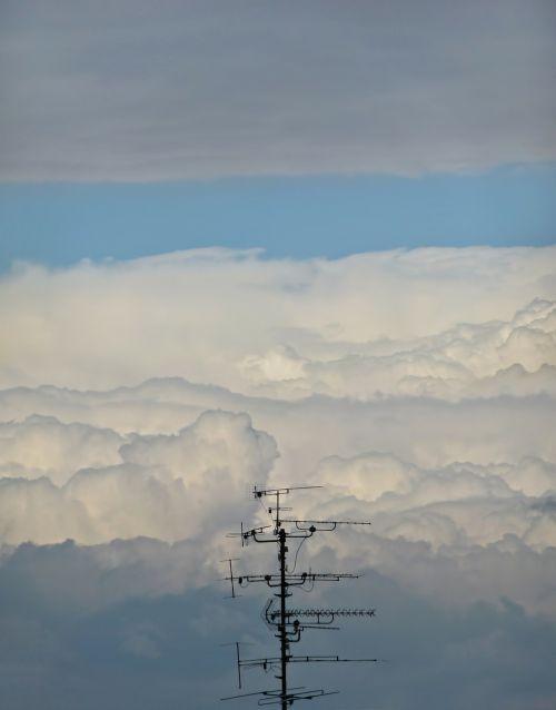 antenna clouds cloudscape