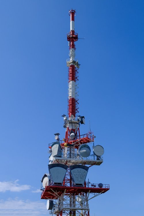 antenna  antenna mast  radio mast
