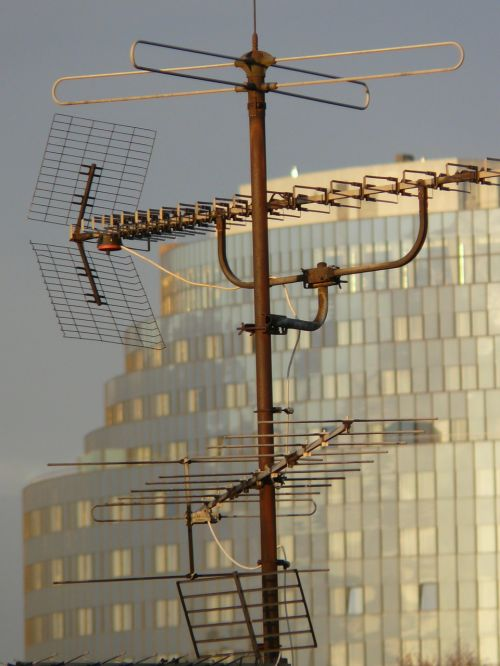 antenna watch tv radio