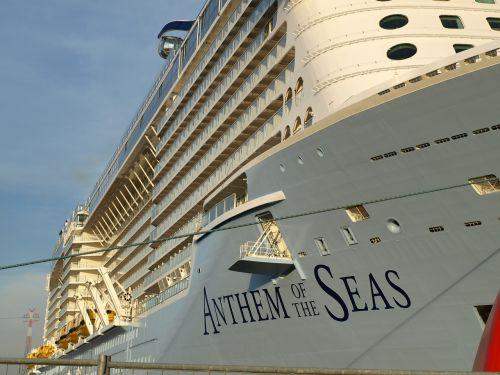 anthem of the seas cruise ship ozeanriese
