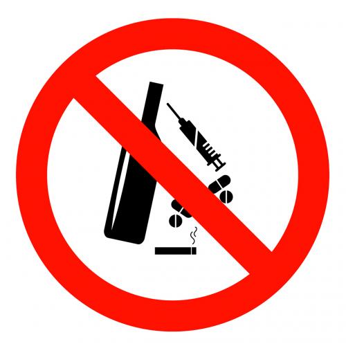 anti drugs anti alcohol alcohol