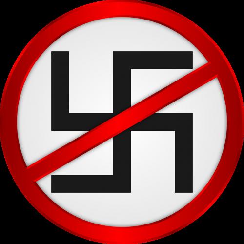 anti fascist swastika nazi