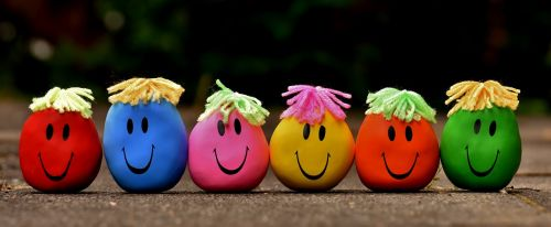 anti-stress balls funny troop smilies stress reduction