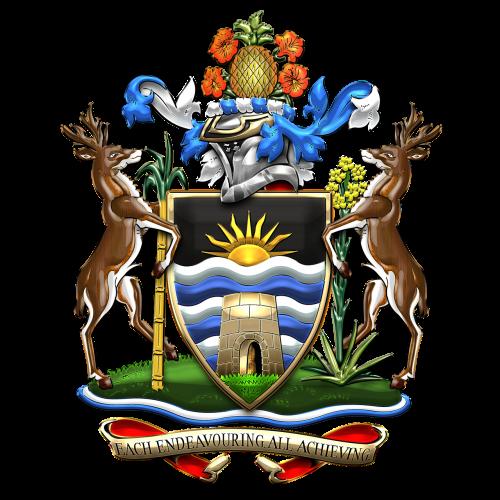 antigua and barbuda coat of arms heraldry