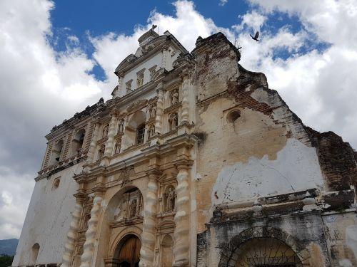 antigua guatemala churches guatemala