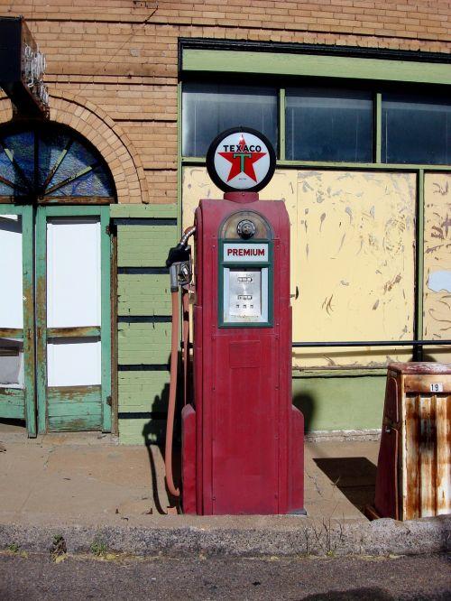 antique gas pump gas