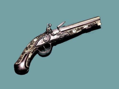 antique pistol antique firearm