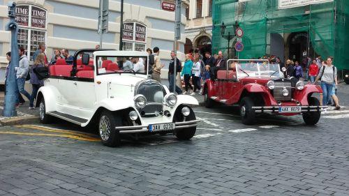 antique cars prague