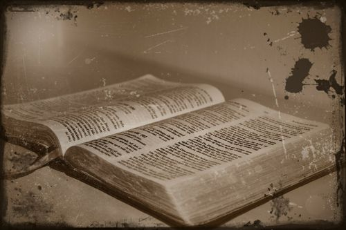 antique bible faith