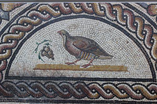 antique mosaic rome