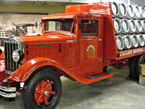 antique brewing delivery truck museum