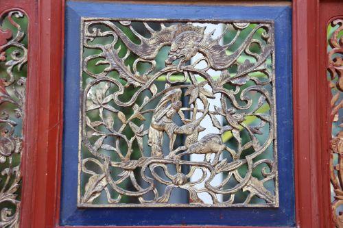 antique asia wood