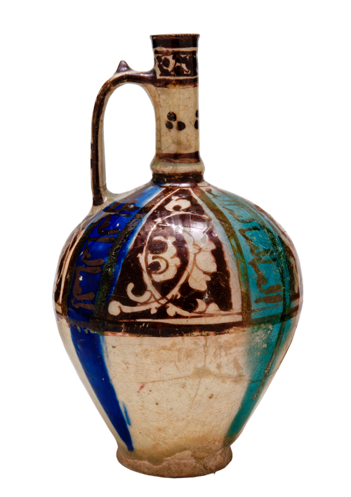 antique bottle with handle iran