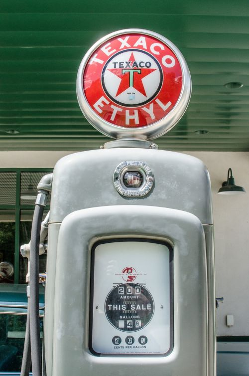 antique gas pump vintage retro
