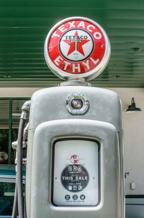 antique gas pump vintage retro