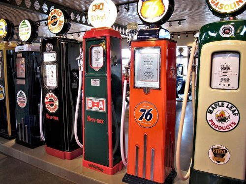 antique gasoline pumps petrol museum