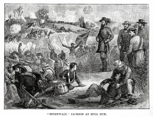 Antique Image - Battle Of Bull Run