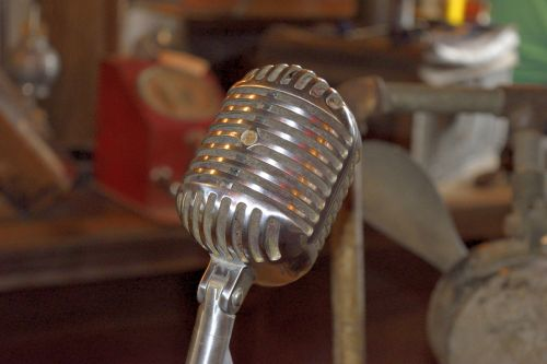 Antique Microphone