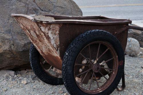 Antique Mining Cart