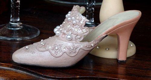 Antique Ornamental Ladies Shoe