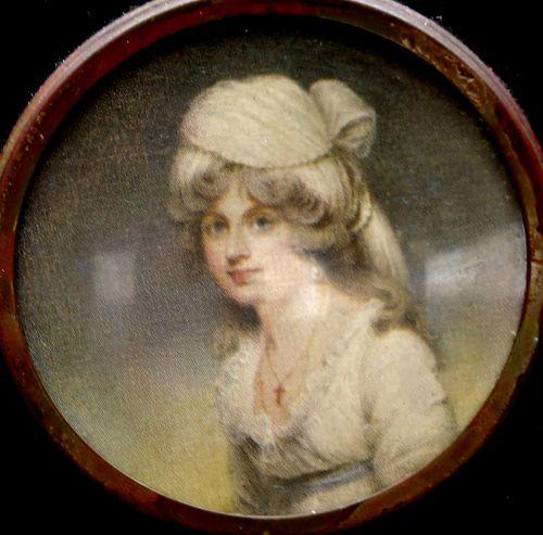 Antique Picture Portrait