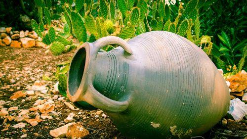 antique vase vase nature