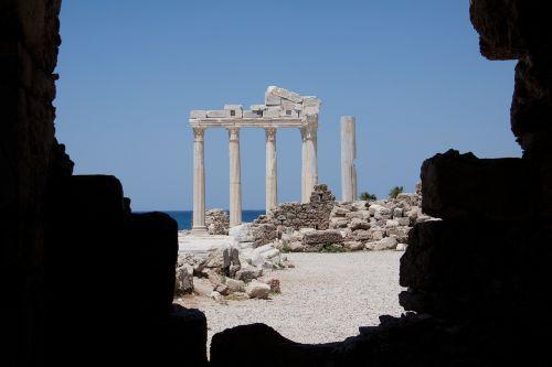 antiquity temple ruin