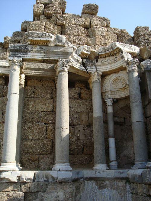 antiquity ruin pillar