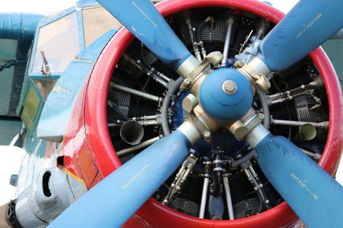 antonov radial engine aircraft