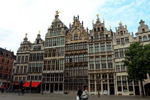 antwerp belgium clouds